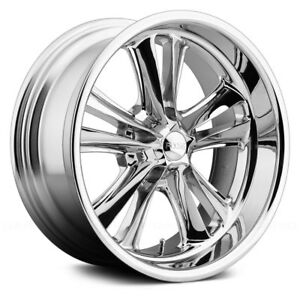 Foose F097 Knuckle Wheels 17x8 1 5x114 3 72 6 Chrome Rims Set Of 4