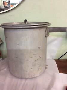 Antique Maytag Aluminum Butter Churn Rare Washing Machine Attachment