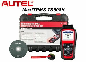 Genuine Autel Model Ts508 Maxi Tpms Diagnostic Service Tool Kit Scan Authorized