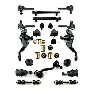 Black Poly Front Suspension Master Kit Fits 1973 1976 Plymouth Duster Valiant