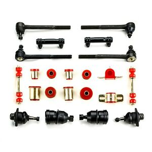 1973 Chevrolet Monte Carlo Red Polyurethane Front End Suspension Rebuild Kit