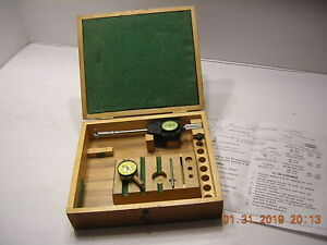 Federal Boice 2k Bore Gage 1 2 1 000 Complete Incl g English