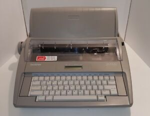 Brother Sx 4000 Electronic Typewriter Tested Working See Video In Discription