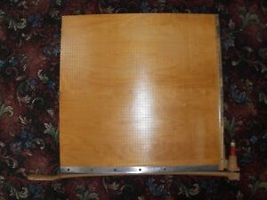 Ingento 1172 Vintage School Office Large Paper Cutter 30 X 30 Poster Size