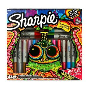 Sharpie Limited Edition 38 Ultra Metallic Fine Point Permanent Markers New