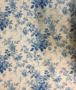 19th Century French Printed Toile Cotton Fabric