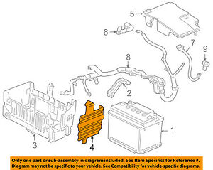 Gm Oem Battery protector 13284552