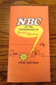 Vintage National Bank Of Commerce Mankato Minnesota Map 1969