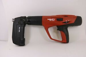 Hilti Dx460 Powder Actuated Tool Fastening Tool With Mx72 Magazine Pre owned
