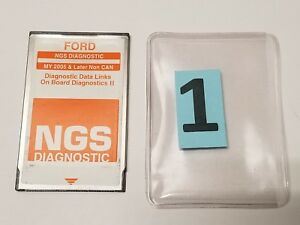 Ford Hickok Ngs Obdii Orange Non Can Diagnostic Card 2005 Later Ver 25 0 1