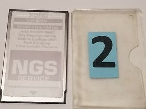 Ford Hickok Ngs Obd Ii Gray Service Card Can Link Ver 2 0 2