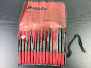 Ac977 Snap On Ppc715bk Center Pin Punch And Chisel Set