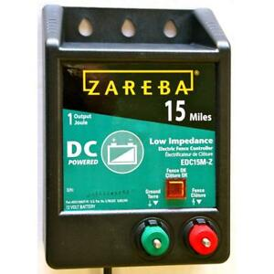 Zareba 15 Mile Battery Operated Low Impedance Fence Charger Controller Edc15m z