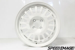 Rota Eg6 Wheels Full White 16x7 35 4x100 Civic Integra Miata Xb Bbr Eg Dc