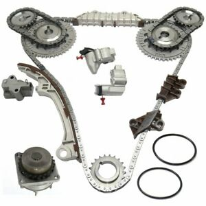 Engine Timing Chain Kit W water Pump 3 0l 1996 2001 For Maxima I30 Vq30de Dohc