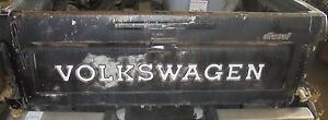 1981 Vw Rabbit Diesel Pick Up Truck Tailgate W Hardware Hinges