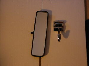 1967 Mustang Rear View Mirror And Bracket