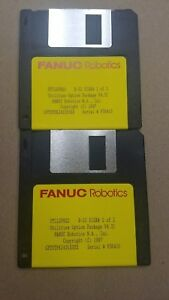 Fanuc Utilspgk Rj2 Disk 1 Of 2 Utilities Option Package Version 4 31