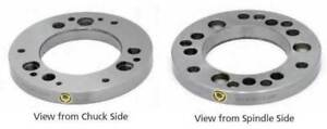 Bison bial A2 8 Type A Steel Body Adapter Plate For 8 Power Chucks