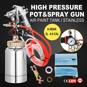 0 5 Gallon 4mm High Pressure Pot Paint Sprayer Wood Coating Lacquer Industrial