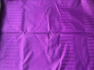 1mx1 6m Purple Bride Interior Racing Car Seats Fabric Cloth Decoration Material