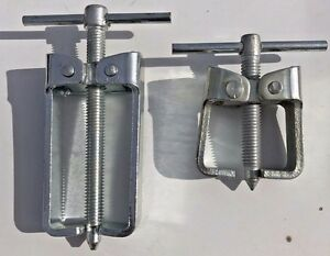 Pulley Puller Set 2 Pieces Small 2 Jaw Made In Usa New