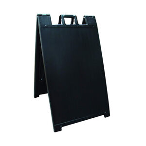 Signicade Portable Folding A frame Sidewalk Sandwich Board Sign 24 X 36
