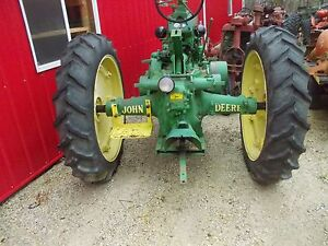 Good Year 11 2 X 38 Traction Rear Tractor Tires 95 Tread John Deere A B Rims