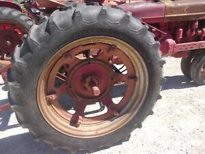Firestone 12 4 X 38 Field Road Rear Tractor Tires 95 Tread Ih H M Sh Jd A B Rim