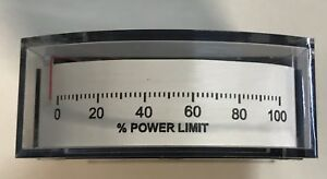 Yokogawa 185119fazz Type I85 Edgewise Panel Meter 0 1ma 0 100 Power Limit