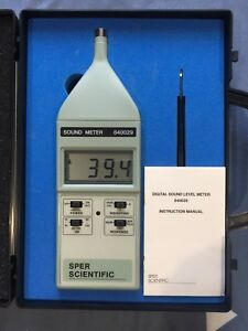 Digital Sound Level Meter Sper Scientific 840029