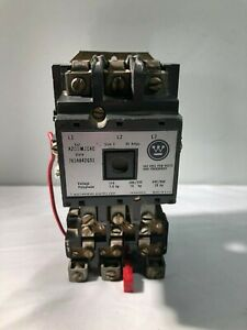 Westinghouse A200m2cac Size 2 Motor Starter