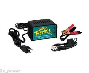 Battery Tender Plus 12 Volt 1 25 Amp Battery Charger 021 0128 Single Bank