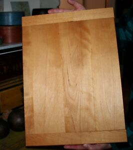 Antique Vintage Wooden Bread Board Cutting Board 22 X 16 3 4 Thick