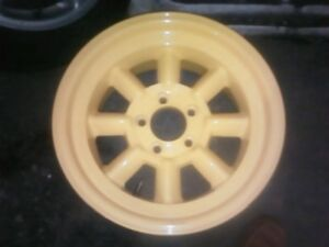 Minilite Vintage Wheel Works Sunoco Camaro 1969 16x8 Set Of 4 Rims Wheels