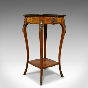 French Antique Etagere Kingwood Side Table Nightstand Druce And Co C 1870