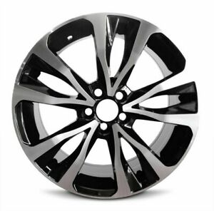 Set Of 4 Wheels Fits Toyota Corolla 17 19 New Alloy Rim 17 Inch 5x100mm Chrome