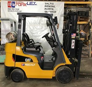 Used Caterpillar Forklift 5000lbs Capacity For Sale