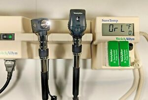 Welch Allyn 767 Wall Transformer Otoscope Ophthalmoscope Digital Thermometer