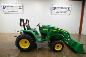 John Deere 3203 Tractor Loader Hst Open Rops 32hp 4x4 Clean Only 626 Hours