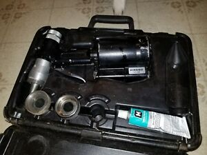 Wirsbo Q6301000 Propex Air Expander Tool Case And 2 Expander Heads