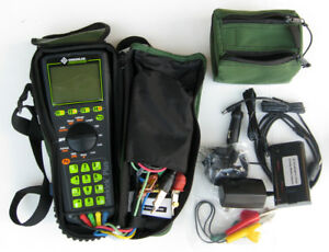 Greenlee Sidekick Plus 1155 5005 Cable Tester Kit Accs Unused mint Condition