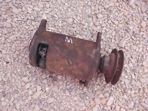 Farmall Ih M H Tractor 6v Core Non Work Generator Good Belt Drive Pulley