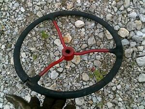 Farmall Ih Sc Super C Tractor Steering Wheel 3 Spoke