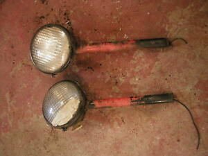 Allis Chalmers Wd45 Wd Tractor Ac Tractor Head Lights
