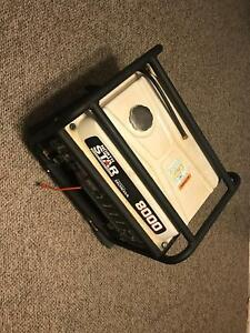 Northstar Portable Generator 8000 Surge Watts 6600 Rated Watts Electric Used