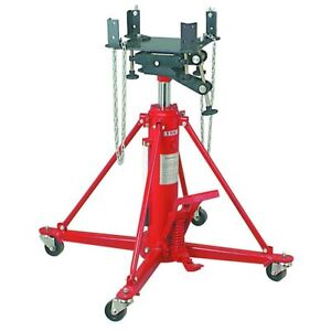 2200 Lb Two Stage Transmission Jack With Foot Pedal Pump And Release