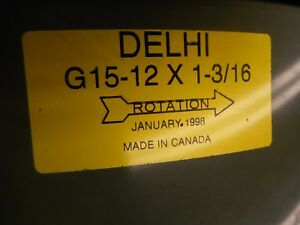 Delhi Blowers G15 Blower And Fan G15 12x1 3 16 Made In Canada