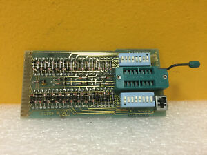 Hp Agilent 10529 60017 Zif Socket Board For 10529a Comparator New