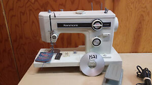 Kenmore 1521 Sewing Machine Heavy Duty Leather Upholstery Denim Serviced